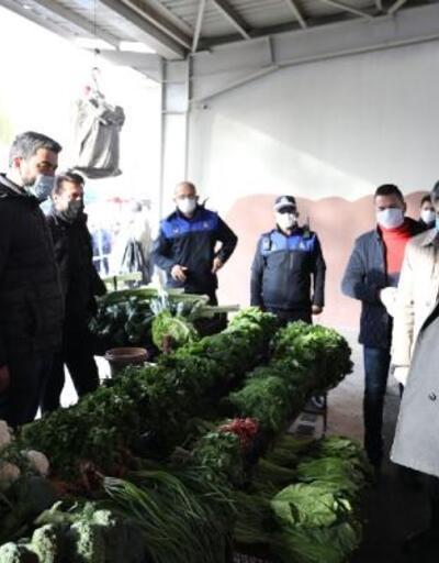 Başkan Palancıoğlu'ndan koronavirüs denetimi