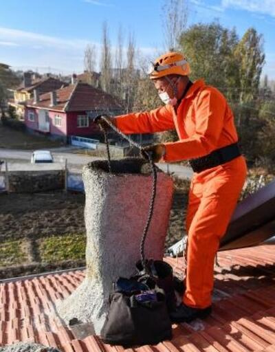 Ankara itfaiyesinden baca temizliği uyarısı