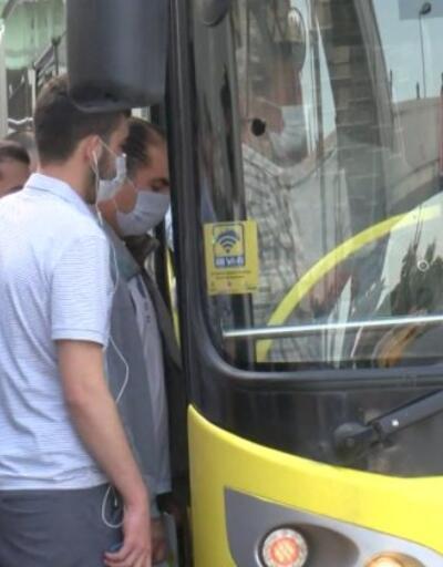 Metrobüsler tıklım tıklım | Video
