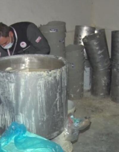 Peynir imalathanesine baskın | Video