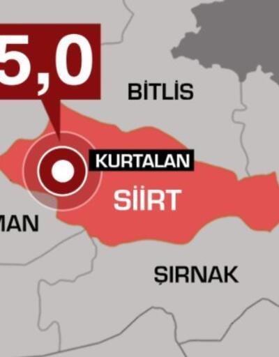 Son dakika! Siirt'teki deprem uzman isim yorumladı
