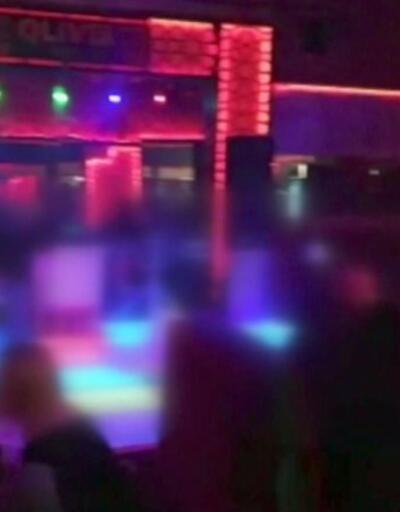 Eğlence mekanına virüs baskını | Video