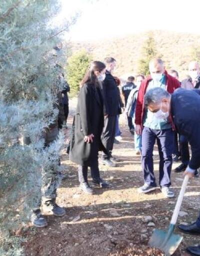 Tunceli'de sağlık çalışanları için hatıra ormanı kuruldu