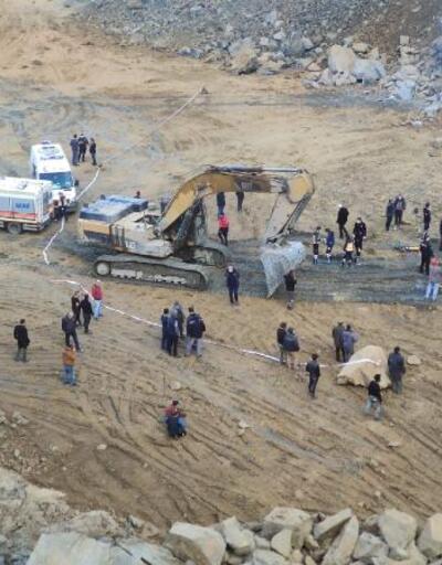 Arnavutköy'de taş ocağında göçük