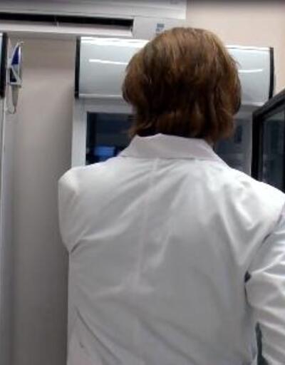 Yerli aşı ve korunduğu oda ilk kez görüntülendi