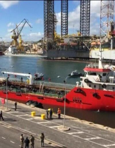 Libya'da Türk gemisi alıkondu | Video