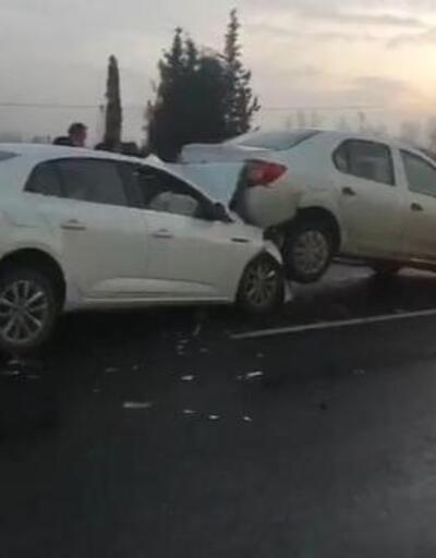 Çerkezköy'de zincirleme kaza: 4