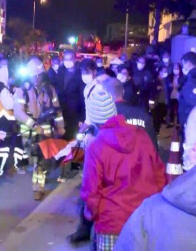 Tuzla'da yangın paniği | Video