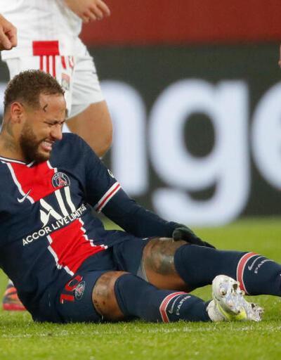 PSG-Lyon maçında Neymar'a ne oldu, kulübü ne açıklama yaptı?