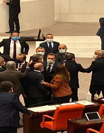 Meclis'te tansiyon yüksek! Tartışma üstüne tartışma | Video