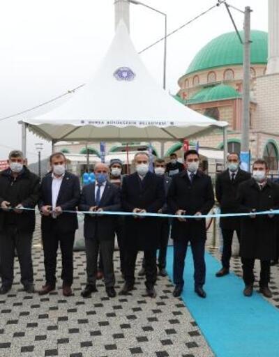 Büyükorhan Meydanı törenle açıldı