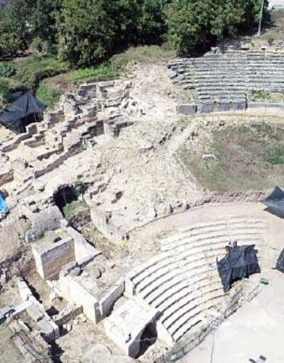 Konuralp antik kenti kazısı, İtalya ve Almanya'nın dikkatini çekti