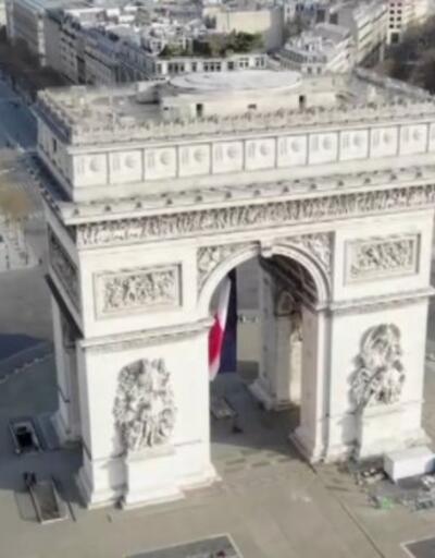 Paris polisine İHA yasağı   Video