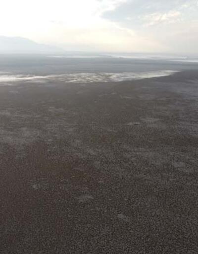 Kuş cenneti Acıgöl'de su seviyesi köylüleri endişelendirdi