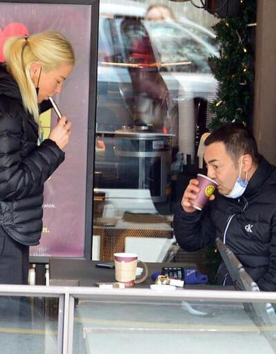 Serdar Ortaç vatandaşı veto etti sevgilisine izin verdi