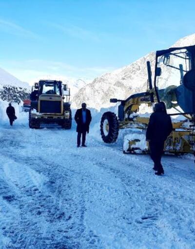 Van- Bahçesaray yolu ulaşıma açıldı