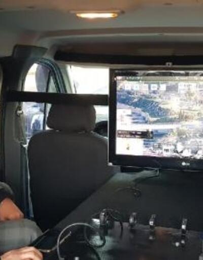 İskenderun'da dron destekli huzur uygulaması