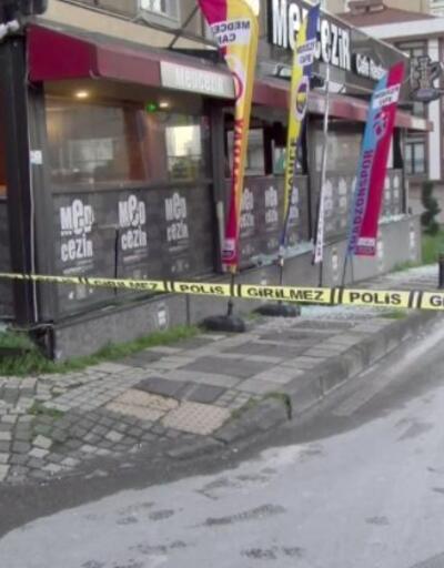 Kafeye silahlı saldırı yapıldı | Video