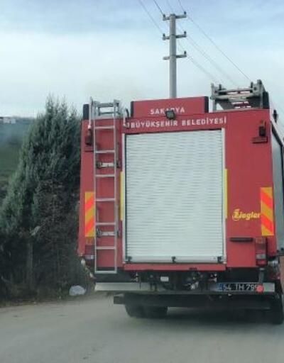 Sakarya'da anız yangını