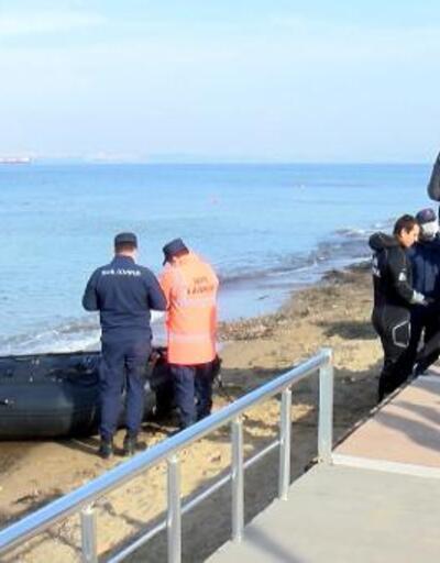 Denizde kaybolan genci arama çalışmaları devam ediyor