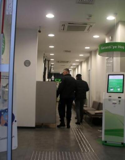Şişli'de bir garip banka soygunu | Video