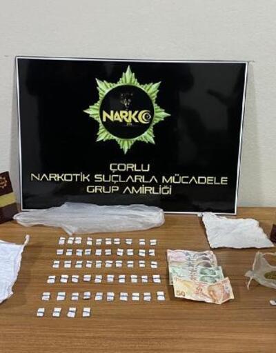 Üzerinde satışı hazır uyuşturucu ile yakalandı