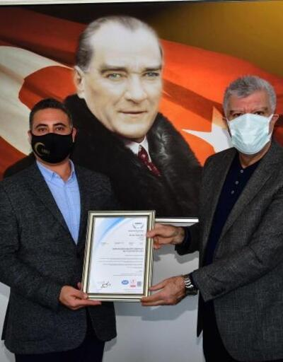 Narlıdere Belediyesi'ne ISO sertifikası