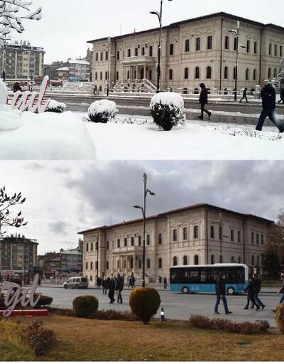 Sivas'ta 18 derece ile sıcaklık rekoru kırıldı