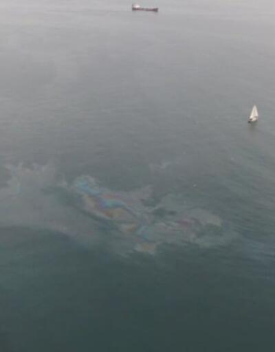 Son Dakika: Marmara Denizi'nde petrol sızıntısı   Video
