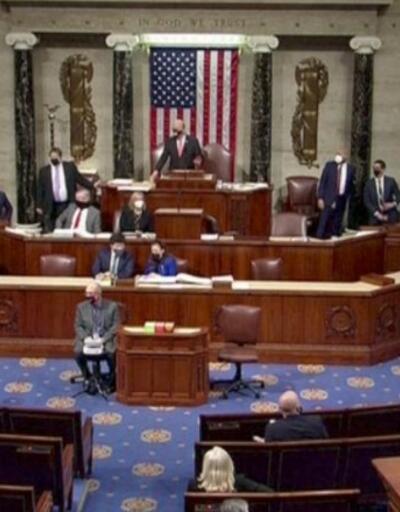 Trump'ın azli kabul edildi... Senato da onaylarsa görevden alınacak | Video
