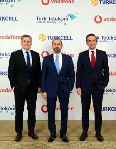 Son dakika.. Turkcell, Türk Telekom ve Vodafone'dan iş birliği