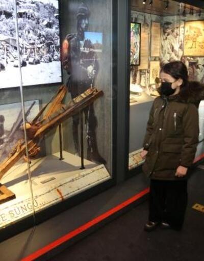 'Çanakkale Savaşları Mobil Müzesi', Gölbaşı'nda ziyarete açıldı