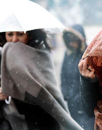 İstanbul'da etkili kar yağışı ne zaman, saat kaçta? 16 Ocak 2021 MGM kar yağacak iller