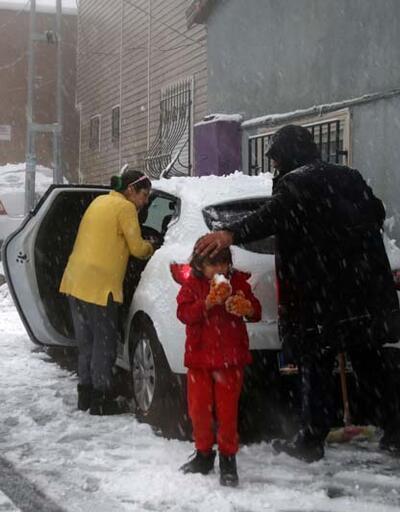 İstanbullular karın keyfini çıkardı