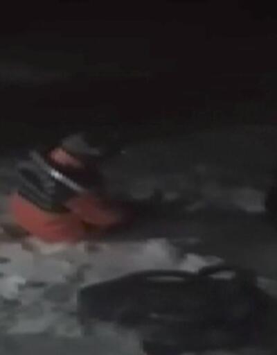 Son dakika: Kaybolan 8 dağcı 9 saat sonra donmak üzereyken bulundu | Video