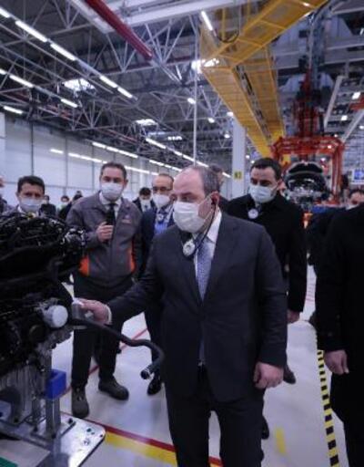 Bakan Varank elektrikli araç yatırımlarını inceledi