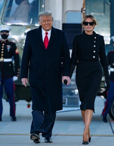 Melania Trump'ın tercihi ABD'de gündem oldu: Kıyafetiyle mesaj mı verdi?