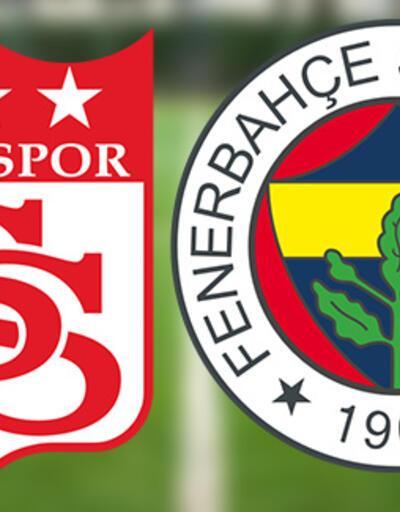Sivasspor Fenerbahçe maçı canlı yayın ne zaman, saat kaçta? Sivas FB maçı muhtemel 11'ler