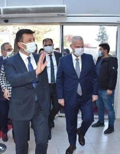 Menemen Belediyesi Başkan Vekili Pehlivan'a AK Parti heyetinden ziyaret