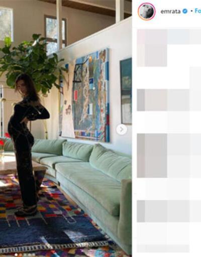 Emily Ratajkowski hareketli hayatından ödün vermedi