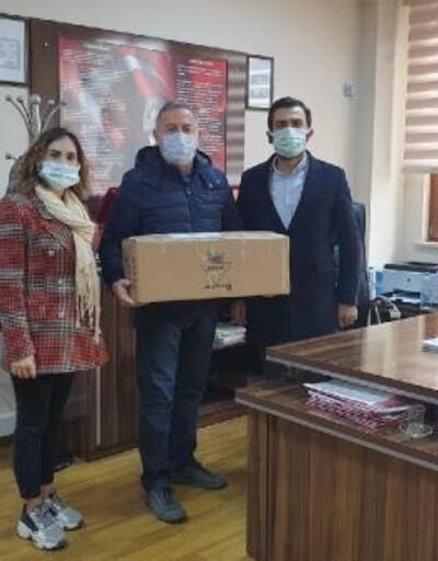 Gebze'de çevreci okullara hediye