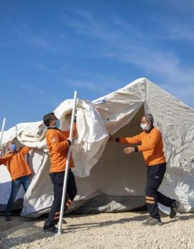 Mevsimlik tarım işçileri yepyeni çadırlara kavuşuyor