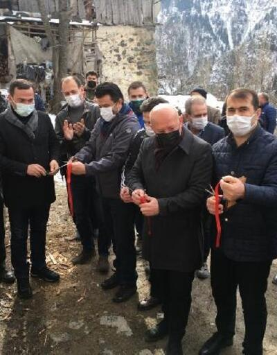 Yüncüler köyü halkı, sosyal tesise kavuştu