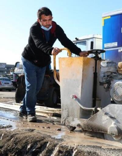 Büyükşehir'in makina ikmal sahası yenileniyor