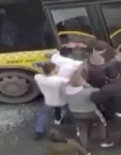 Şoför ve oğluna saldırmışlardı