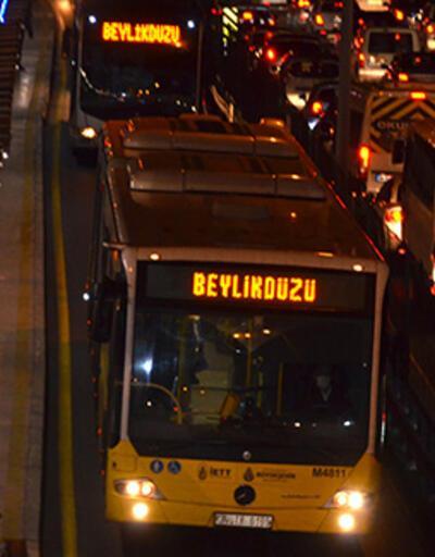 Metrobüs kodları tarih oldu