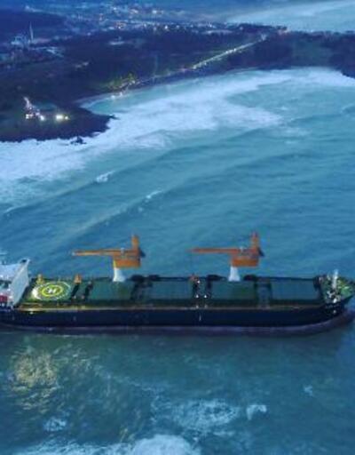 Kıyıya sürüklenen gemi ne durumda?