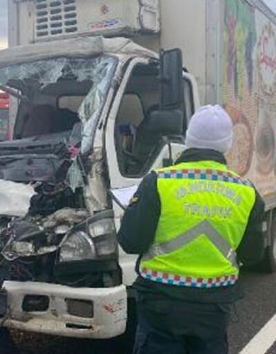 Kuzey Marmara Otoyolu'unda kaza: 2 yaralı