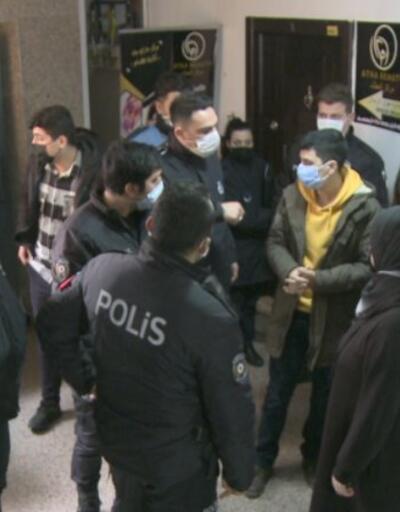 Kaçak muayenehaneye baskın... Kapıyı açmadılar, polisi saatlerce beklettiler