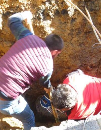 Ümraniye'de 1 işçi toprak altında kaldı